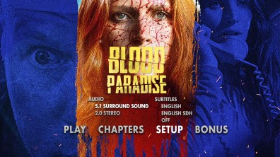 Blood Paradise Setup Menu