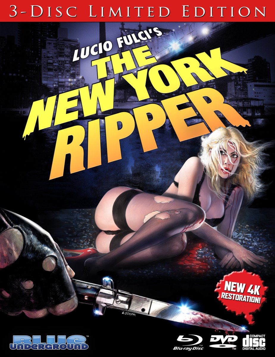 the new york ripper blu-ray
