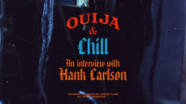 The Chill Factor Hank Carlson interview 1