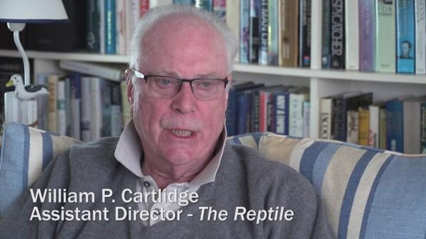 The Reptile William P. Cartlidge interview