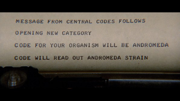 The Andromeda Strain screencap