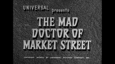 The Mad Doctor of Market Street cap 1