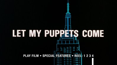 Let My Puppets Come Blu-ray menu