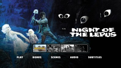 Night of the Lepus Chapter Menu