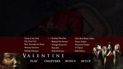 Valentine Blu Bonus Menu