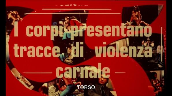 Torso Italian trailer 2