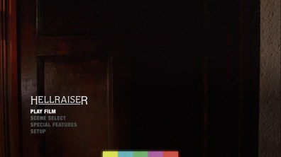 Hellraiser Blu-ray menu