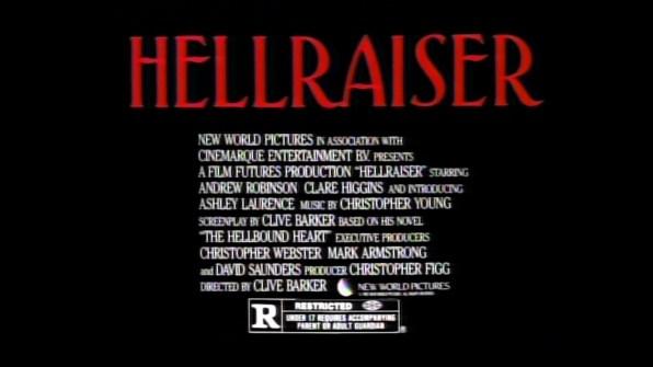 Hellraiser TV spot 1 cap 2