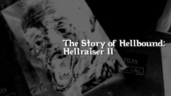 Hellbound: Hellraiser II Leviathan Story of Hellraiser II 1