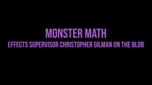 The Blob Christopher Gilman interview 1