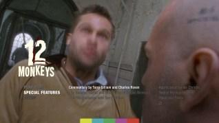 12 Monkeys Blu-ray Extras Menu