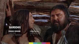 Bandidos Blu-ray Menu