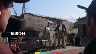 Bandidos Blu-ray Setup Menu