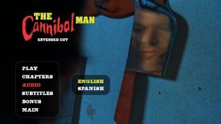 Cannibal Man Extended Cut Blu-ray Audio Menu
