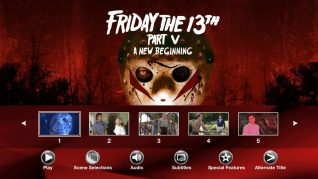 Friday the 13th Part V: A New Beginning Blu-ray Scenes Menu
