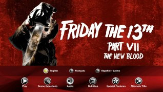 Paramount Pictures Friday the 13th Part VII: The New Blood Blu-ray Audio Menu