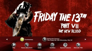 Paramount Pictures Friday the 13th Part VII: The New Blood Blu-ray Extras Menu 1