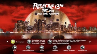 Paramount Pictures Friday the 13th Part VIII: Jason Takes Manhattan Blu-ray Extras Menu 1