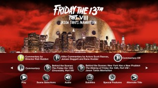 Paramount Pictures Friday the 13th Part VIII: Jason Takes Manhattan Blu-ray Extras Menu 2