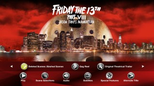 Paramount Pictures Friday the 13th Part VIII: Jason Takes Manhattan Blu-ray Extras Menu 3
