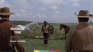 Massacre Time Blu-ray Extras Menu 2