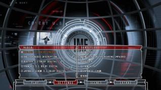 Mission: Impossible Blu-ray Settings Menu