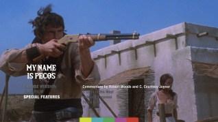 My Name is Pecos Blu-ray Extras Menu 1