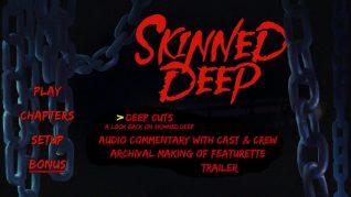 Skinned Deep Blu-ray Extras Menu
