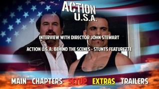 Action U.S.A. Blu-ray Extras Menu