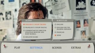 Breakdown Blu-ray Settings Menu
