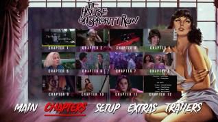 The House on Sorority Row Blu-ray Scenes Menu
