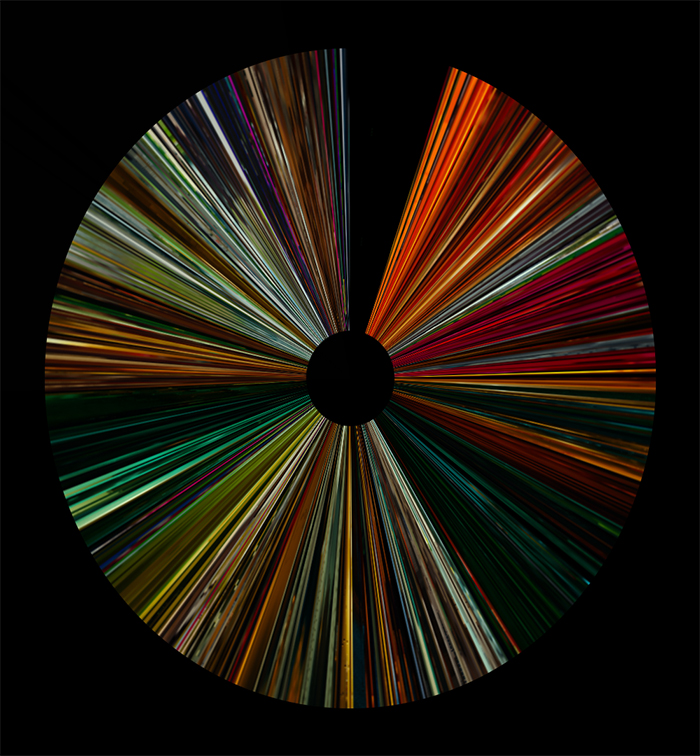 Random Acts of Violence Color Barcode