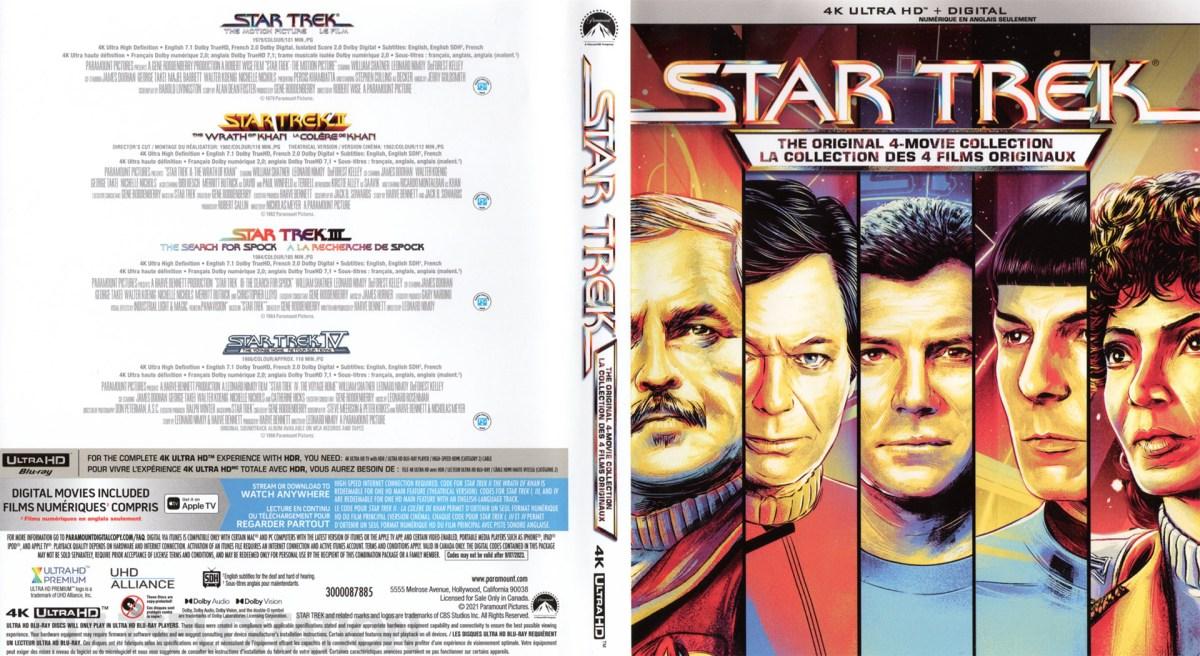 Star Trek: The Motion Picture 4K UHD Sleeve