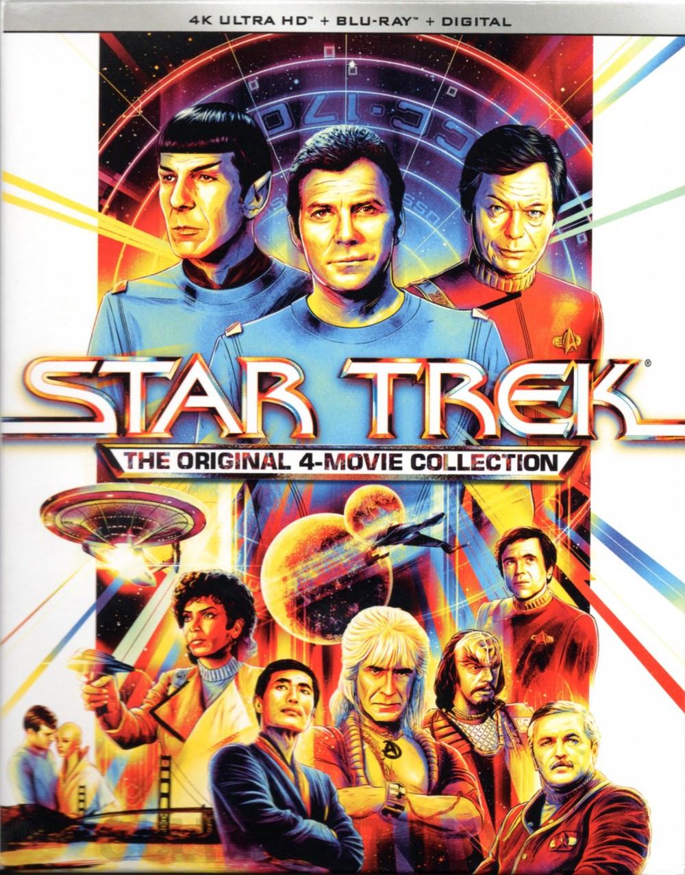 Star Trek: 4 Movie Collection Sleeve Front