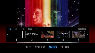 Star Trek: The Motion Picture Blu-ray Scenes Menu