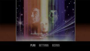 Star Trek: The Motion Picture 4K UHD Menu
