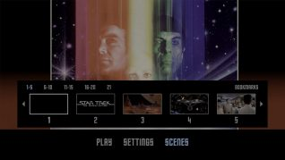 Star Trek: The Motion Picture 4K UHD Scenes Menu