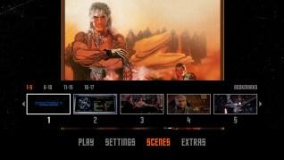 Star Trek II: The Wrath of Khan Blu-ray Scenes Menu