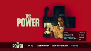 The Power Blu-ray Setup Menu