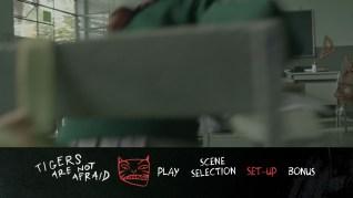 Tigers Are Not Afraid Blu-ray Menu