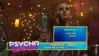 Psycho Goreman Blu-ray Setup Menu