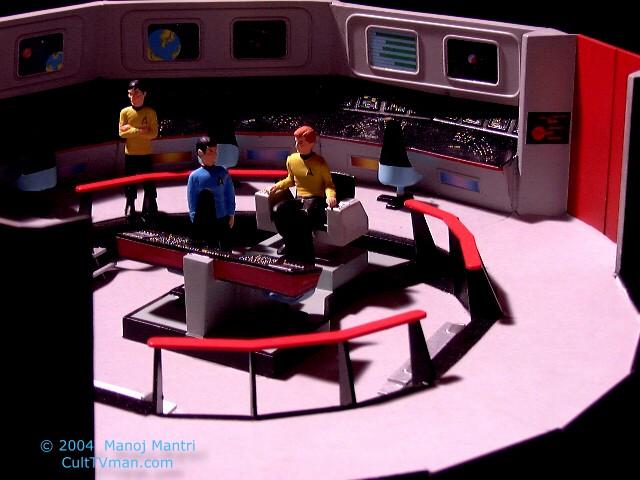 star trek captains chair pier one chairs on sale manoj mantri's enterprise bridge – culttvman's fantastic modeling