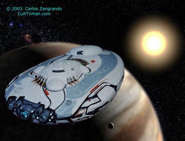 Carlos Zangrandos Lost In Space Movie Models CultTVman