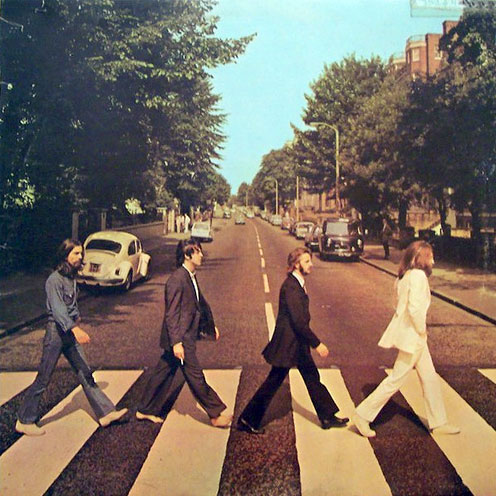 The Beatles: The Abbey Road cover