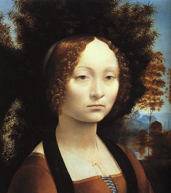 Ritratto di Ginevra de Benci di Leonardo da Vinci