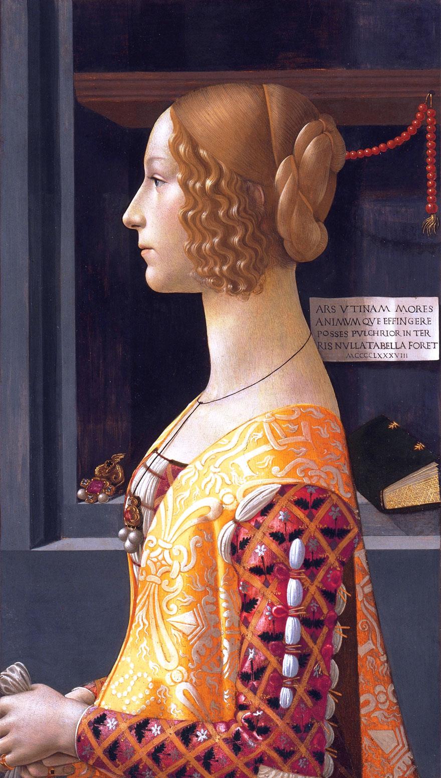 Ritratto di Giovanna Tornabuoni di Domenico Ghirlandaio