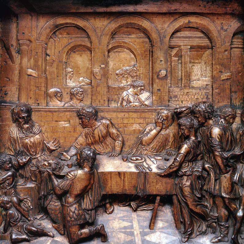 Banchetto di Erode Donatello