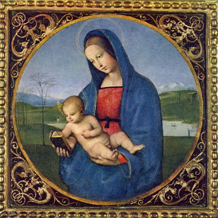 Madonna Conestabile opera di Raffaello