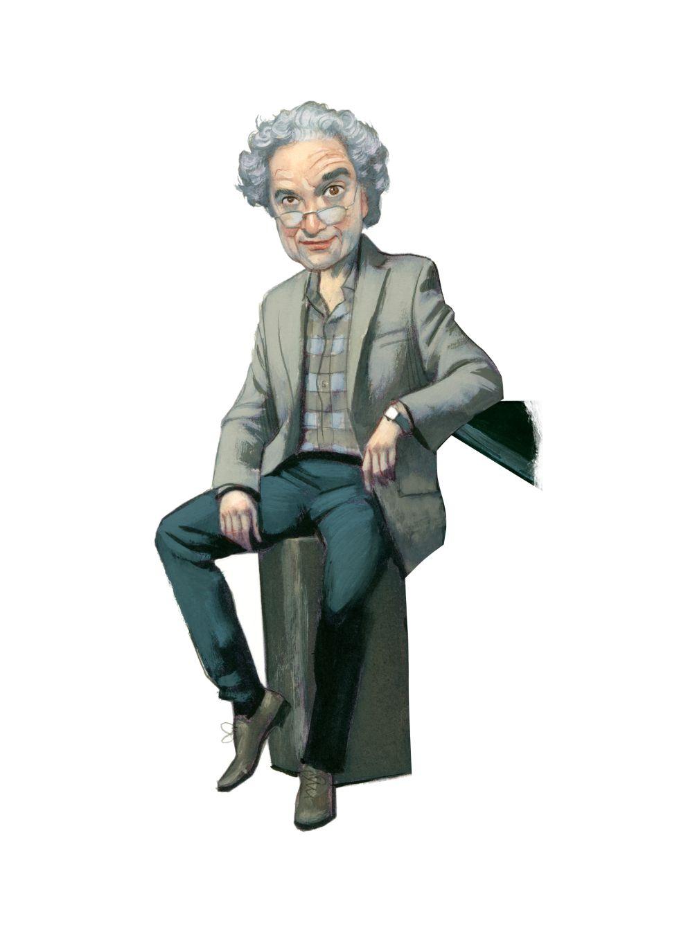 Ricardo Piglia visto por Fernando Vicente.