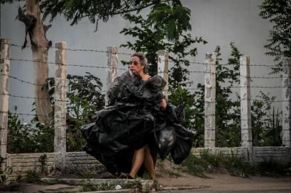 Performance de rua com Silvia Moura (Fortaleza-CE)